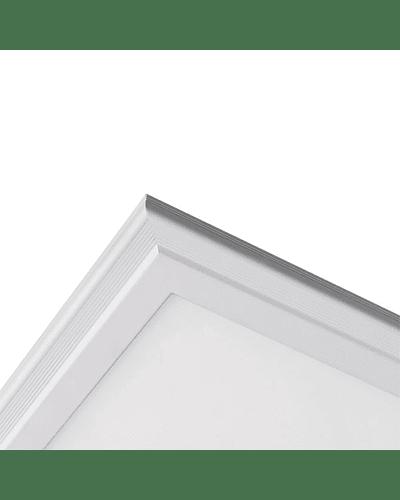 PANEL LED 120X60 CM. 80W EMBUTIDO O SUSPENDIDO MARCO BLANCO