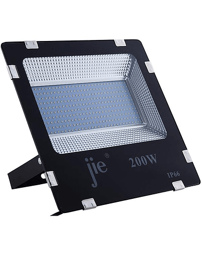 PROYECTOR LED FLAT IP66 NEGRO