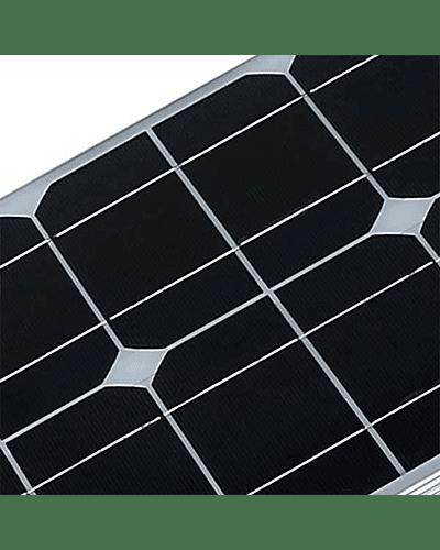 ALUMBRADO PÚBLICO SOLAR 50W INTEGRADO IP66 IK08 C/SENSOR MOVIMIENTO