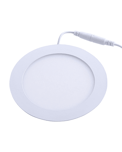 PANEL LED REDONDO EMBUTIDO 9W IP33