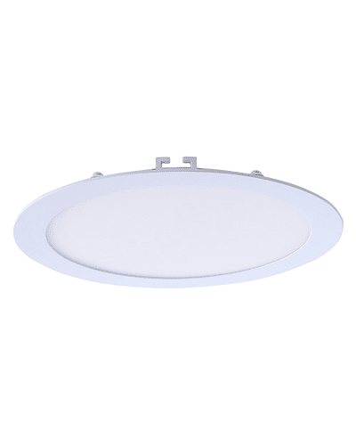 PANEL LED REDONDO EMBUTIDO 12W IP20