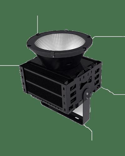 PROYECTOR LED DE ESTADIO 1500W IP66 IK09