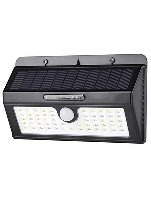 APLIQUE LED SOLAR 10W LUZ FRÍA 500 LM IP65