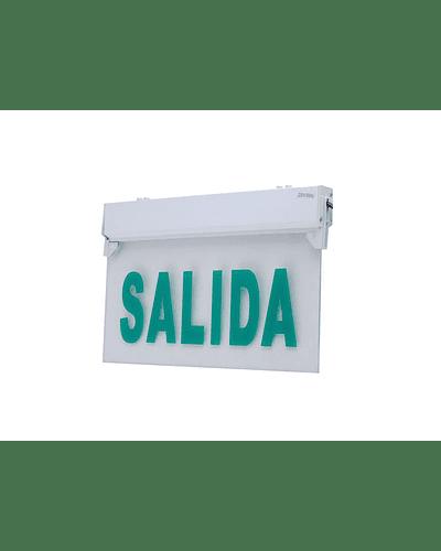 SEÑALETICA DE EMERGENCIA SALIDA 5 LEDS