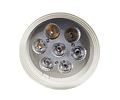 DOWNLIGHT LED SOBREPUESTO 7W LAVADORA SLIM IP20
