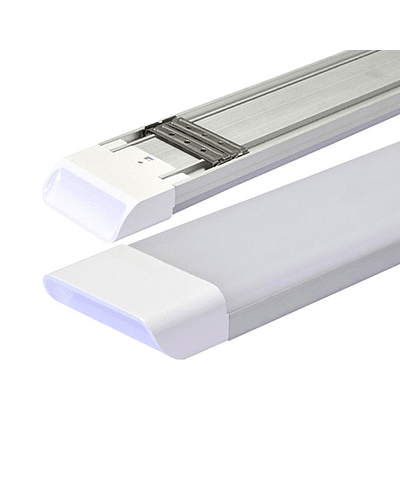 LUMINARIA LINEAL LED OPAL SUSPENDIDA 54W 120 CM. IP44