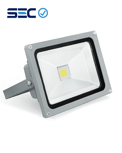 PROYECTOR LED COB 20W GRIS IP65