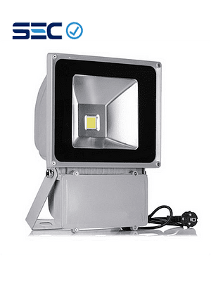 PROYECTOR LED COB 70W GRIS IP65