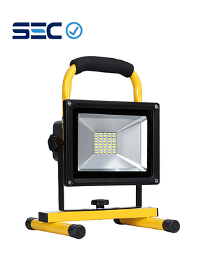 PROYECTOR LED DE EMERGENCIA RECARGABLE SMD 20W IP65
