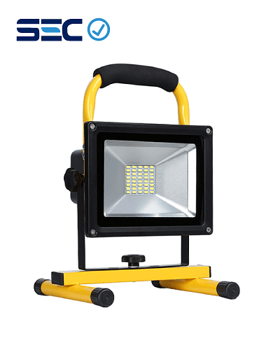 PROYECTOR LED DE EMERGENCIA RECARGABLE SMD 20W IP65