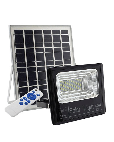 PROYECTOR LED SOLAR 40W 6500K IP67