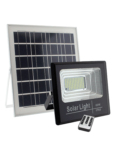 PROYECTOR LED SOLAR 60W 6500K IP67