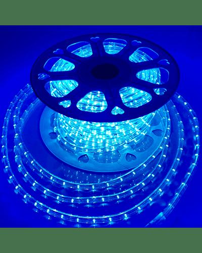 MANGUERA LED AZUL 1.65W/m 36 LEDs/m IP65 100 mt. 220V