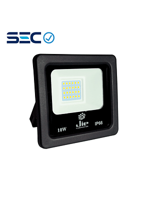 PROYECTOR LED ULTRA THIN 10W IP66 NEGRO