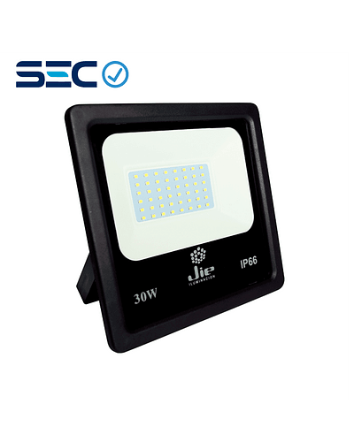PROYECTOR LED ULTRA THIN 30W IP66 NEGRO