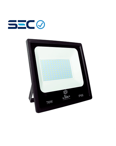 PROYECTOR LED ULTRA THIN 70W IP66 NEGRO