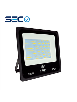 PROYECTOR LED ULTRA THIN 200W IP66 NEGRO