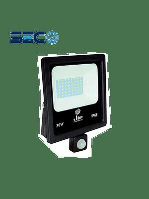 PROYECTOR LED ULTRA THIN SMD 30W IP66 LUZ FRÍA C/ SENSOR DE MOVIMIENTO