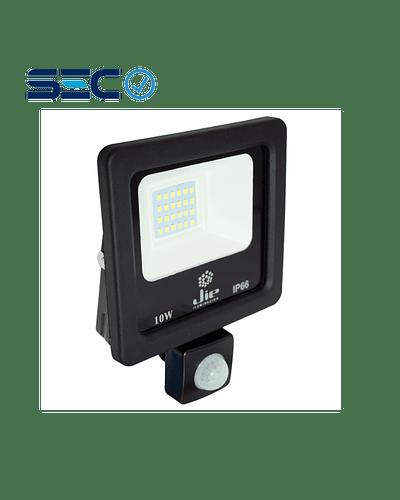 PROYECTOR LED ULTRA THIN SMD 10W IP66 LUZ FRÍA C/ SENSOR DE MOVIMIENTO