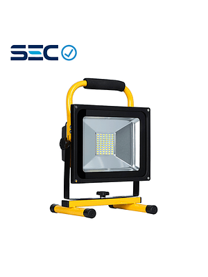 PROYECTOR LED DE EMERGENCIA RECARGABLE SMD 30W IP65