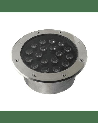 FOCO LED EMBUTIDO EN PISO 18W IP67