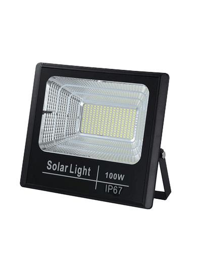 PROYECTOR LED SOLAR 100W 6500K IP67