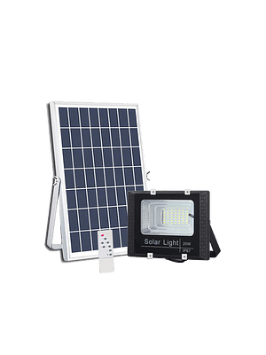 PROYECTOR LED SOLAR 20W 6500K IP67