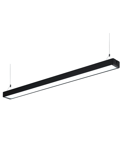 LINEAL LED OFFICE 40W 120 CM. IP20 NEGRO