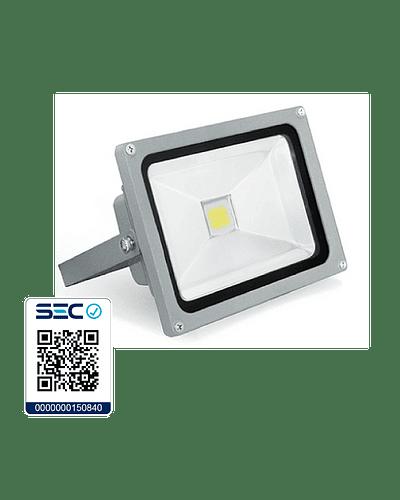 PROYECTOR LED COB 30W GRIS IP65