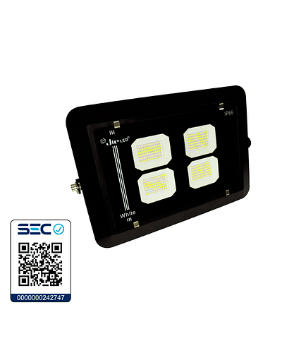 PROYECTOR LED ANTIVANDÁLICO 200W IP66