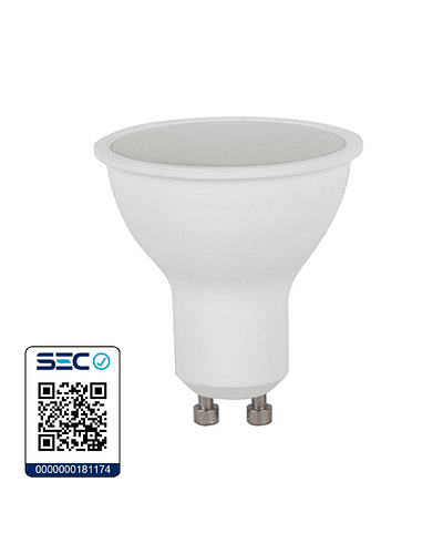AMPOLLETA LED DICROICA 6-50W GU10 OPAL