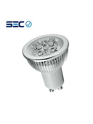 AMPOLLETA LED DICROICO 4-50W GU10