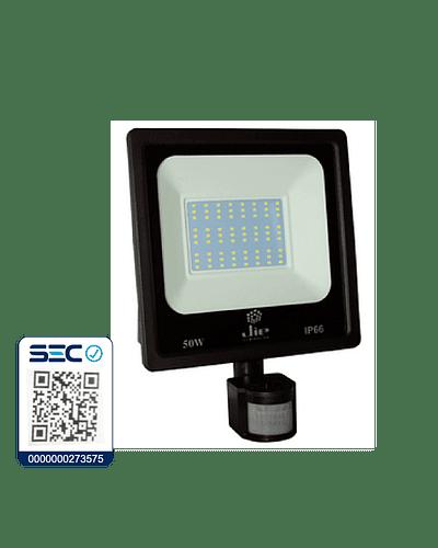 PROYECTOR LED ULTRA THIN SMD 50W IP66 LUZ FRÍA C/ SENSOR DE MOVIMIENTO
