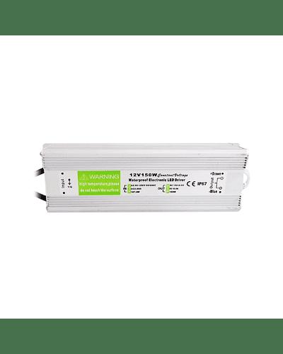 FUENTE DE PODER SWITCHING 150W 12V 12.5A EXTERIOR IP67