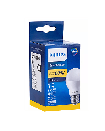 AMPOLLETA LED PHILIPS 7.5W