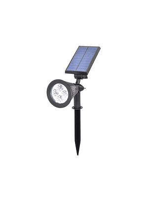 ESTACA LED SOLAR 2W JARDÍN IP65