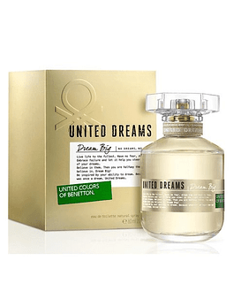 Benetton United Dreams Dream Big For Her EDT 80 ML (M)