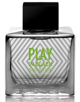 Antonio Banderas Play in Black Seduction Men EDT 100 ML Tester (H)