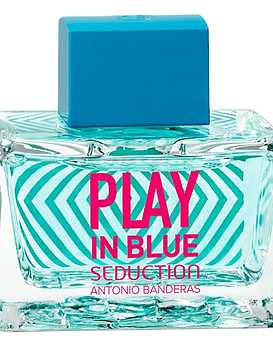 Antonio Banderas Play in Blue Seduction Woman EDT 80 ML Tester (M)