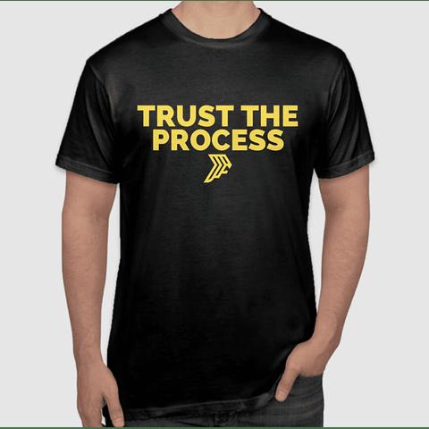 Trust The Process Gold T-Shirt
