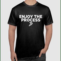 Enjoy The Process Black T-Shirt