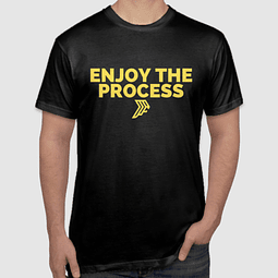 Enjoy The Process Gold T-Shirt