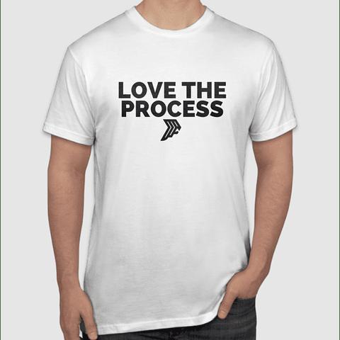 Love The Process White T-Shirt
