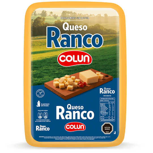 Queso Ranco Colun 250 g granel