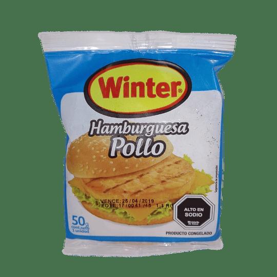 Hamburgesas pollo Winter 50 g