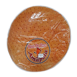 Pizza familiar Amapola 2 x 28 cm
