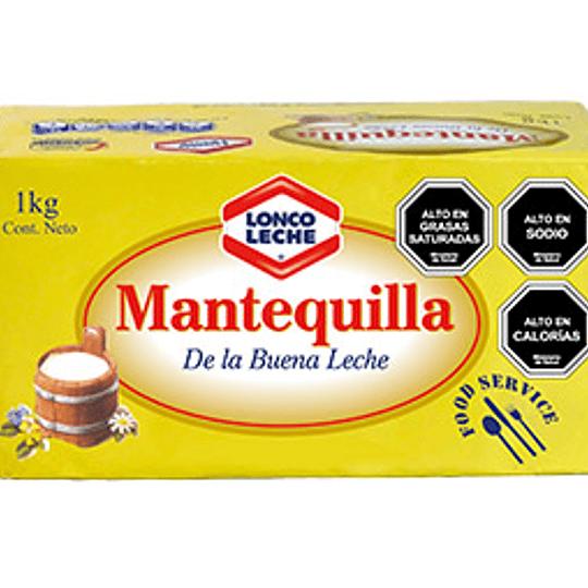 Mantequilla Lonco Leche kilo