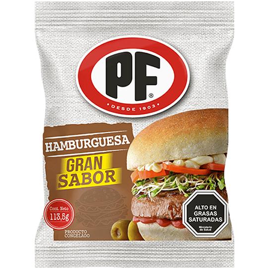 Hamburguesas PF 113,5 g
