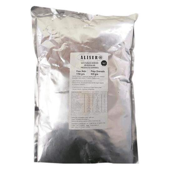 Aceituna verde en rodaja Alisur 1700 g