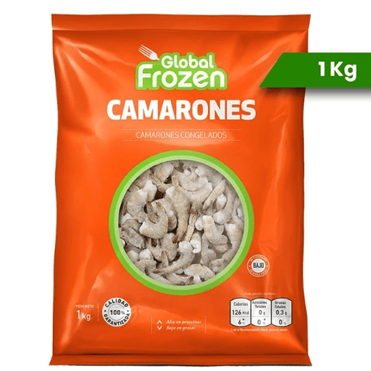 Camarón 36-40 Golden Frozen kilo